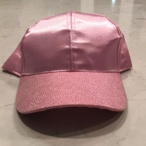Accessories - Pink sparkle hat baseball cap